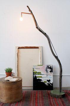 DIY Floor lamp.