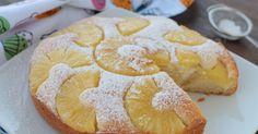 Torta ricotta e ananas senza uova è un dolce velocissimo con 2 minuti è pronto! E' soffice e goloso dovete provarlo