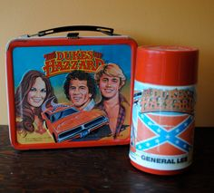 1980 Dukes of Hazzard Lunch box with Thermos
