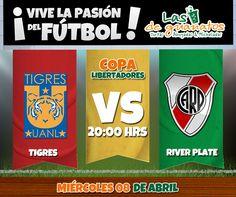 La Copa Libertadores está en nuestras pantallas. ¡Disfrútala en tu sucursal favorita!