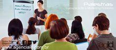 Palestras direcionadas para o seu crescimento empresarial, organizacional, comportamental e da sua equipe. #coaching AGLD
