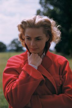 Ingrid Bergman, 1956  by Yul Brynner. This is a whole group of Yul Brynner's photographs. Wonderful!!!