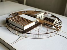 Ytong Culture and Activity House by AboutBlank Architects Maquette Architecture, Architecture Design, Architecture Drawings, Concept Architecture, Amazing Architecture, Architecture Models, Infrastructure Architecture, Architecture Illustrations, Architecture Diagrams