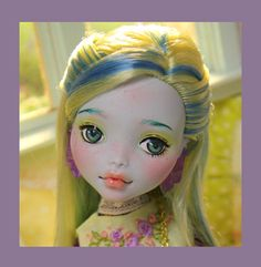 VERONA - OOAK custom repaint Monster High doll by Nerea Pozo