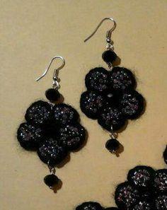Collana e orecchini lavorati... a Monterotondo - eBay Annunci