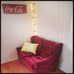 My red sofa
