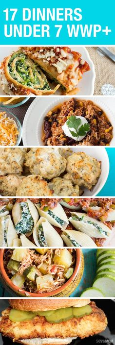 These 17 dinners are absolutely DELICIOUS and all under 7 WWP+!