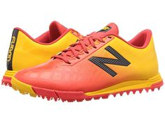 f1b84e9316290 New Balance Kids JSFDTFv4 Soccer (Little Kid Big Kid) Kids Shoes Flame