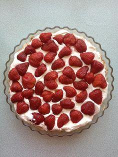 Tuc kagen med friske jordbær