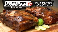 Best way to Cook PULLED PORK Sous Vide - Liquid Smoke VS Real Smoke Pull...