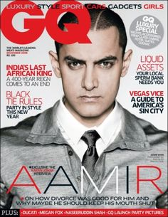 Khan: The Midas Man - GQ Magazine Cover Page : Celebrities Xposed Gq Magazine Covers, Fashion Magazine Cover, Aamir Khan, Gq Style, Male Magazine, Bollywood News, Bollywood Stars, Classy And Fabulous, Cover Pages