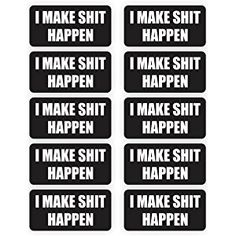 Jay Graphics Hard Decal Label Sticker for Tool Box - Pack of 1
