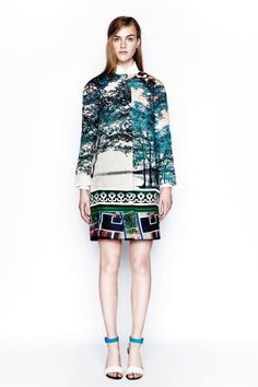 Mary Katrantzou Resort 2014 Collection Slideshow on Style.com