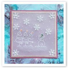 HOCHANDA TV SHOWS Back to back! – Barbara Gray Blog Little Christmas, Christmas Cards, Christmas Ideas, Barbara Gray Blog, Butterfly Dragon, Monarch Butterfly, Parchment Design, Acetate Cards, Parchment Cards