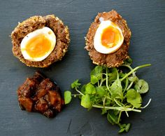 Scotch eggs make a delicious lunch or quick dinner. Try this recipe for paleo scotch eggs from guest blogger Emi of Paleo With Mrs P!   'Paleo With Mrs P' is an inspiring blog for anyon…