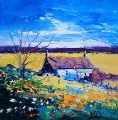 An Angus Autumn Light by Jolomo - John Lowrie Morrison