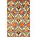 EORC Hand Tufted Wool Morgan Rug (5' x 8')