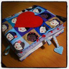 Tuto livre en tissu pour enfant