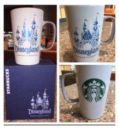 """""""BUY IT NOW .. ONLY $28.93 NEW STARBUCKS DISNEYLAND 60th DIAMOND ANNIVERSARY COFFEE MUG ... ONLY AVAILABLE AT THE """"STARBUCKS LOCATION INSIDE DISNEYLAND"""""""" by hotfry on Polyvore featuring interior, interiors, interior design, home, home decor, interior decorating, starbucks, disneyland, waltdisneyworld and disneyland60"""