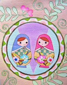 Matryoshka twins マト