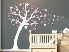 Wandtattoo Sternenbaum