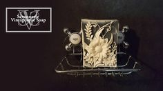 the Vintage garden soap withShea butter soapStoking suffer. Shea Butter Face, Shea Butter Soap, Soap Shop, Cold Process Soap, Tableware, Garden, Handmade, Vintage, Friends