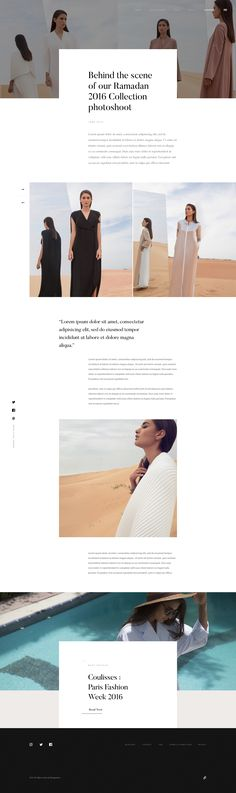 Bouguessa Journal – Ui design and concept by dog studio.