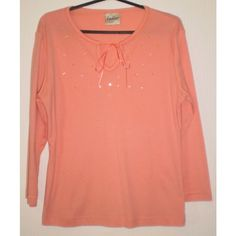 Pretty Coral Embroidery & Sequins Tunic Top by Ladies, Size 12 Listing in the Tops,Womens Clothing,Clothes, Shoes, Accessories Category on eBid United Kingdom | 146134302