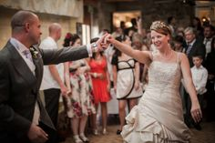 A first dance at The Knowle in Higham