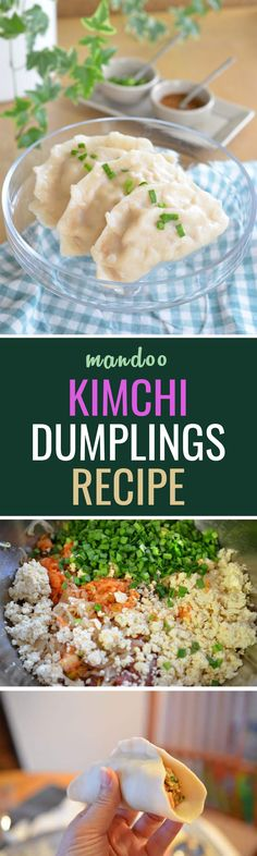 Try these kimchi mandoos, filling and satisfying. Perfect for a fun dinner or in a lunchbox!
