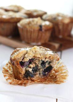 Blueberry Steel-Cut Oat Muffins