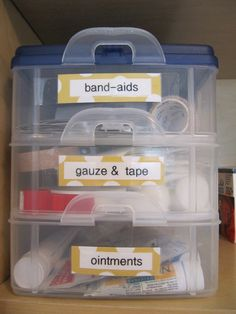 everyday organizing: {An Organized Laundry Room} Making Over the Medicine Cabinet