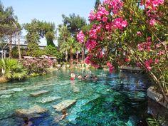 Next stop: Marmaris, Turkey. Cleopatra's pools