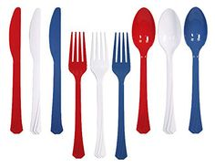 4th of July Cutlery
