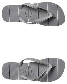 3ed1a3661 Mens Havaianas Top Prints Stripes Thong Grey Cotton. Havaianas MensLatest  Fashion ClothesFlip FlopsSlippersMenFlip ...