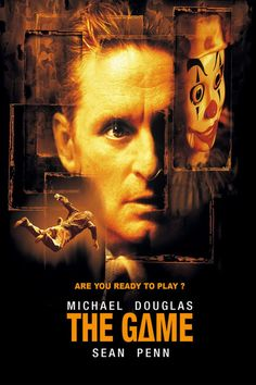 The Game (1997.) Directed by David Fincher - Starring Michael Douglas - Sean Penn - James Rebhorn - Deborah Kara Unger.