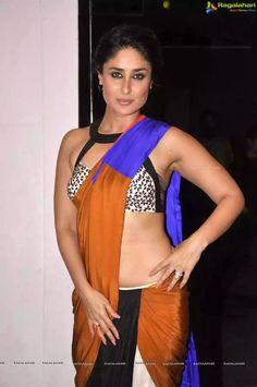 Kareena kapoor hot in sharee with bikini