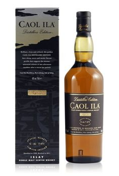 Caol Ila Distillers Edition 2001 Moscatel Finish 0,7L (43% Vol.) //  If you consider yourself a #whiskey lover you need to taste this one! // #RockDrinks #Caolila // https://www.rock-drinks.de/Whisky/Caol-Ila-Distillers-Edition-2001-Moscatel-Finish-07L-43-Vol::354.html