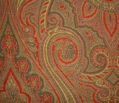 Antique Paisley Shawl