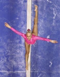 U.S. gymnast Nastia Liukin performs on the balance beam at the U.S. Olympic gymnastic trials in San Jose, Calif. June 29, 2012 (Photo: Julie Jacobson / AP)