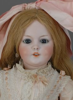 "20"" S & H 1279 - a doll that is so much prettier in person than this photo....and she needs a different wig."