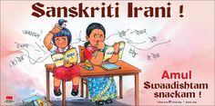love amul ads so topical