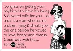 Hahaa Applies to my husbands exgirlfriend If I had her # she would be getting this