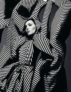 Noomi Rapace by Solve Sundsbo - Gareth Pugh s/s 2012