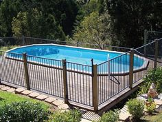Sterns Above Ground Pools High Quality and Affordable Above Ground Swimming Pools, Above Ground Pool, In Ground Pools, Home Reno, Beach House, Backyard, Robins, Pool Ideas, Decks