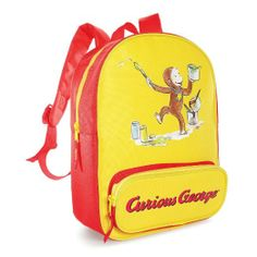 Amazon.com: Curious George Canvas Backpack: Sports & Outdoors