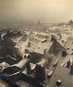Winter Prague by Jan Lauschmann, 1935