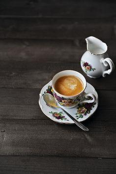 Coffee & milk.