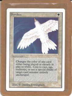 MTG Purelace Unlimited rare x1 Magic Cards, Magic The Gathering, Mtg, It Cast