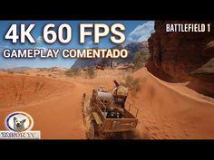 Battlefield 1 Gameplay en 4K 60 FPS Ultra realista comentado en español